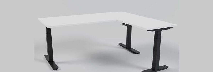 bureau avec hauteur